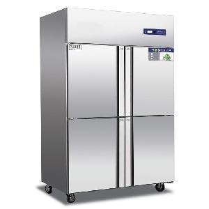 奥斯特四门冷藏冰箱TR4 不锈钢四门保鲜柜