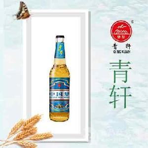 青岛青轩啤酒代理条件13065081259