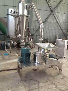 炒豆炒米磨粉机  低温水冷式打细粉机器