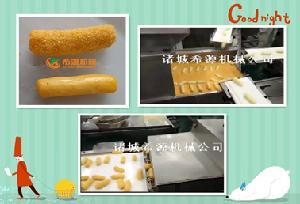哪里有卖刀鱼段上面包糠机生产厂家