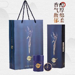 安化黑茶和气生财宝泰隆渠江薄片之蓝钻礼盒
