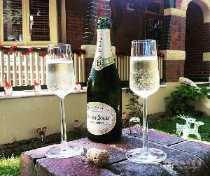 原瓶原装进口红酒香槟 法国巴黎之花无年份香槟酒 起泡酒批发