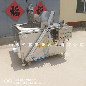 河南自动控温型炸面包圈油炸机