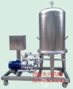 果酒饮料酱油醋过滤优选设备圆盘立式过滤机效率高液损少