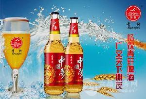 青岛青轩啤酒招商/啤酒厂家供货批发