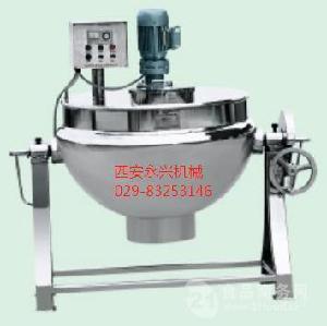 不锈钢可倾式夹层锅立式夹层锅电加热搅拌夹层锅