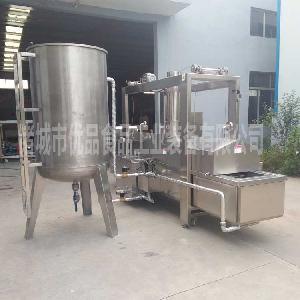 土豆片油炸机 精准扶贫项目黄花鱼油炸机 免费售后炸鱼豆腐机器
