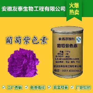 食用 葡萄紫色素厂家 食用 葡萄紫色素价格