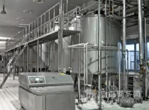 乳品生产线设备包括高速混料缸双联过滤器高压均质机等