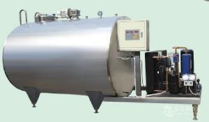 直冷式奶罐采用米勒板做夹套冷却面积大进口制冷压缩机配套