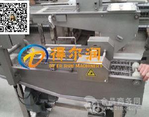 得尔润DR40自动化土豆片裹浆机 (淋浆浸浆)设备 浆料可控