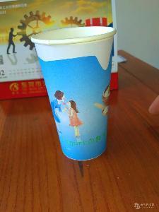 70mm口径200ml低温巴氏奶纸杯鲜奶纸杯