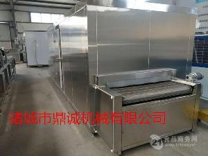 速冻设备---黄秋葵速冻机---食品前处理加工设备
