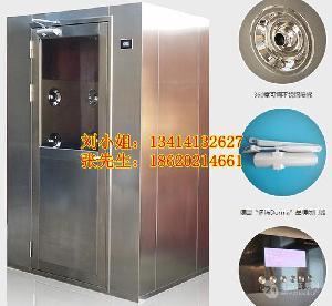 广东广州食品生产车间无尘车间净化设备风淋门定制 风淋室厂家