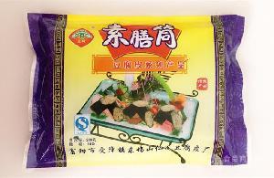 豆腐皮厂家直销 豆制品 素膳筒 营养素食 杭州东坞山特产 230g/包