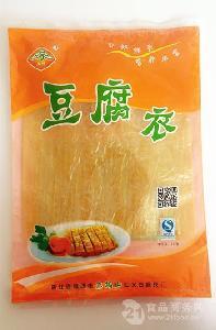 杭州富阳特产豆腐衣  东坞山豆腐皮 营养油豆皮 125g/包