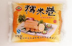 豆腐皮厂家直销 糯米卷 豆制品 杭州东坞山特产 230g/包