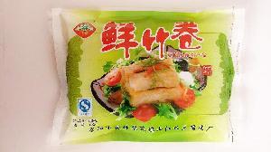 杭州豆腐皮厂家直销 鲜竹卷 豆制品 杭州东坞山特产 230g/包