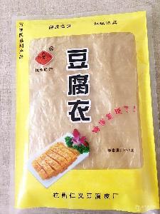 杭州东坞山特产 豆腐皮 豆油皮豆腐衣 豆制品 油豆皮 豆皮500g/包
