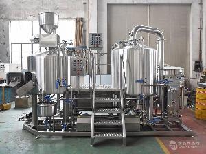 商用精酿啤酒设备-日产300L