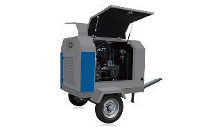德瑞亚电动移动螺杆空压机 高效耐用
