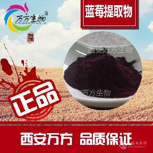 蓝莓花青素5%   天然果蔬提取   另有黑枸杞花青素  万方厂家