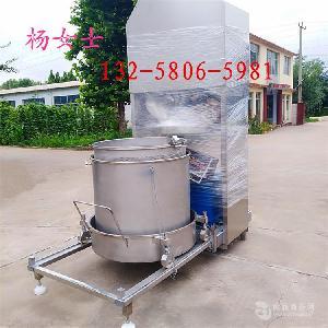 自动下出料双桶轮换豆渣、麦芽糖脱水压滤机