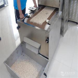 隧道式微波荞麦片干燥设备