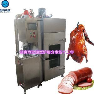 鱼肉熏烤烟熏机