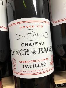 原瓶原装进口红酒 法国靓茨伯红葡萄酒 LYNCH BAGES批发