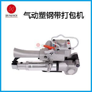 气动打包机(高拉力型)塑料管打包机 塑钢带捆扎打包机CMV-19II