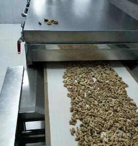 西安圣达微波杏仁熟化烘干设备