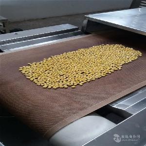 西安圣达大豆熟化机厂家微波烘焙机