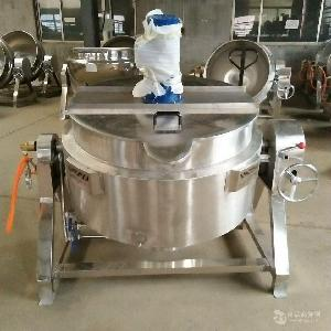 自动搅拌熬酱机
