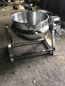 蒸汽加热猪肘蒸煮锅花生米夹层锅干果烘炒锅
