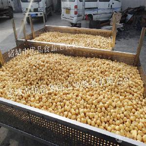 商用刮渣型豆泡双锅电炸锅 自动过滤式结构