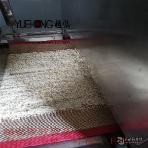 武汉大米烘干机,人造大米微波干燥灭菌设备生产线