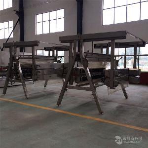 重庆鸭家禽屠宰机械脱毛宰杀线多少钱