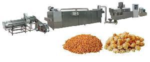膨化食品生产线拉丝蛋白机械