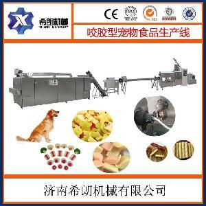 膨化食品机械宠物饲料加工