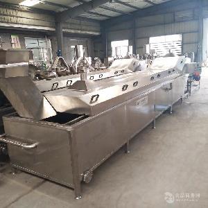 大型海产品蒸煮设备   优质海参蒸煮机  厂家供应蒸煮流水线