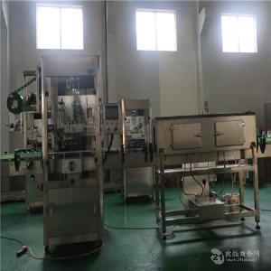 厂家直销全自动套标机  加工定制油类碳酸果汁饮料机械设备