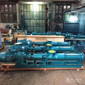 特价直销G40-2型不锈钢螺杆泵配减速机耐腐蚀螺杆泵