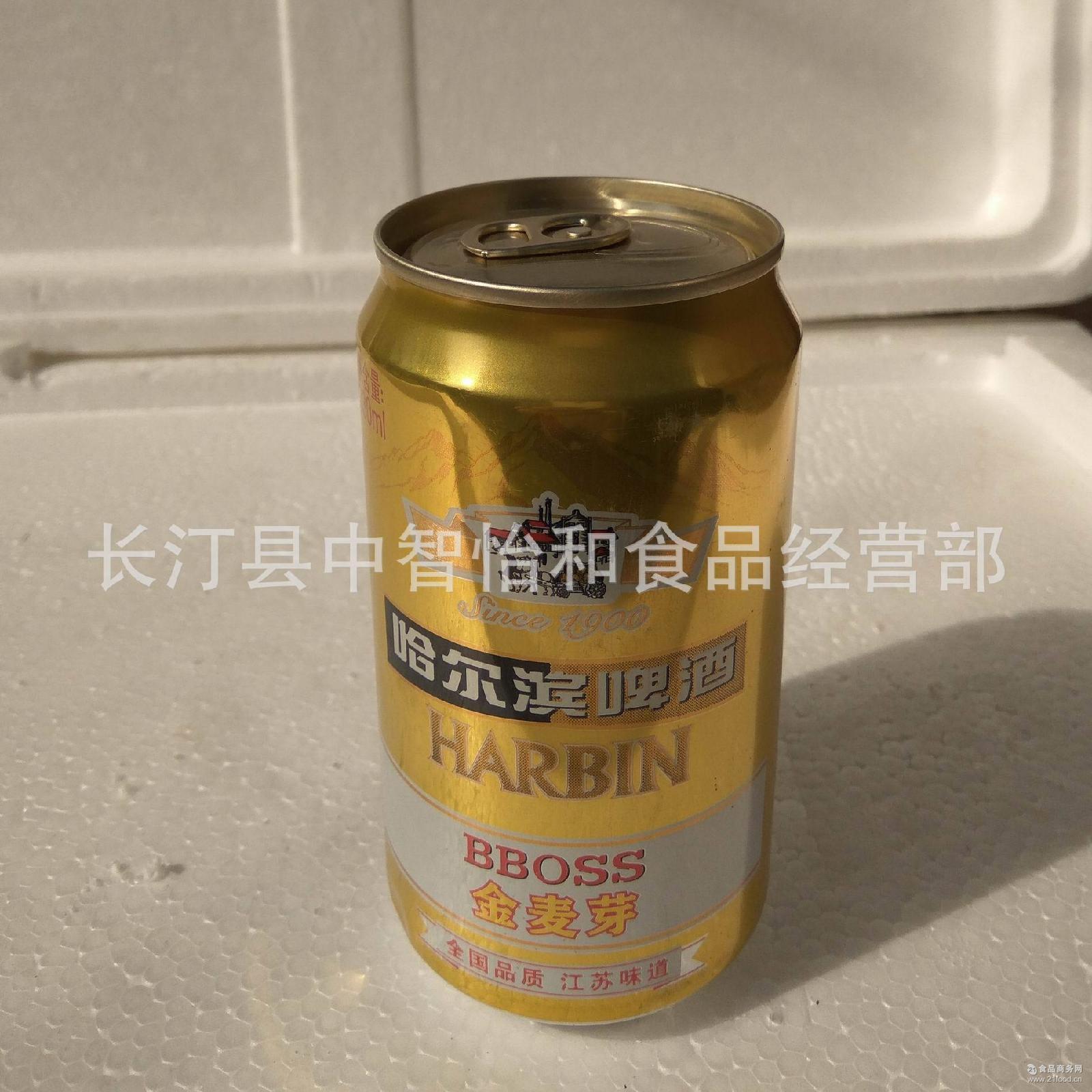 全国品质江苏味道 330ml 优级啤酒 哈尔滨啤酒金麦芽