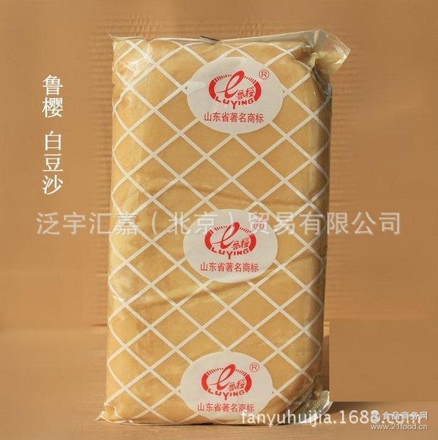 蛋糕夹心 材料馅料 5KG 烘培 韩式裱花装饰 鲁樱白豆沙 面包