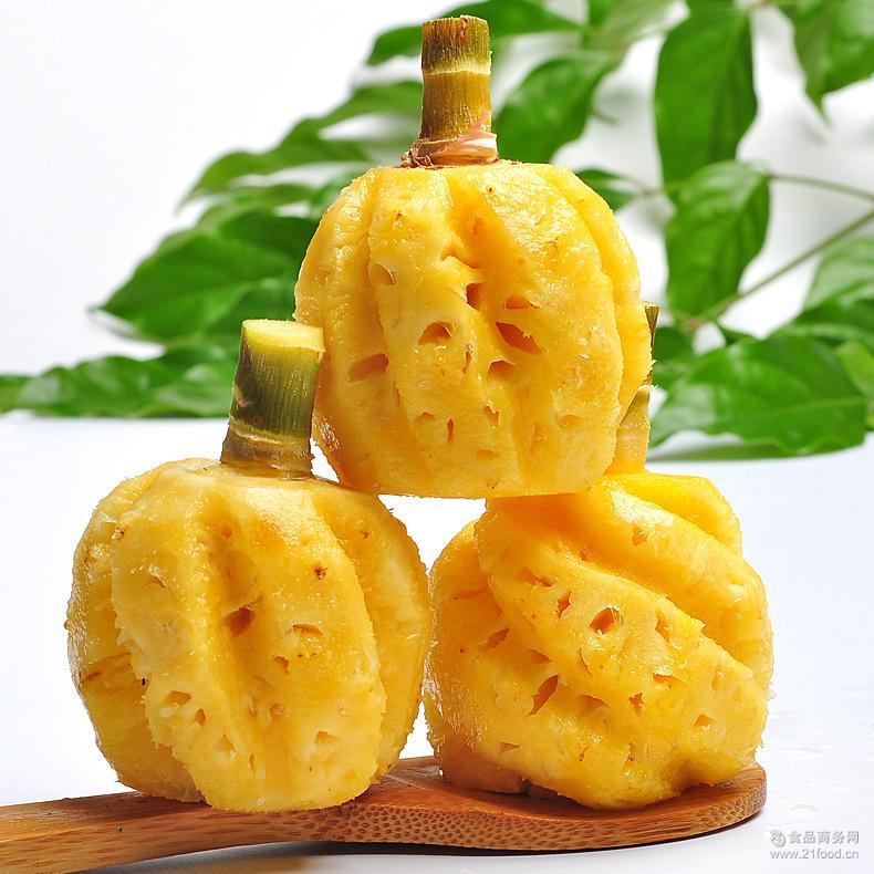 泰国进口迷你小菠萝5斤 新鲜水果凤梨微商代发包邮