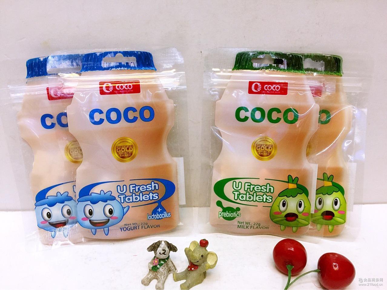 22g*24包优鲜乳酸菌奶片糖(原味,酸奶)