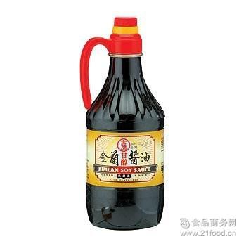 台湾金兰甘醇酱油1500ml*6瓶/箱