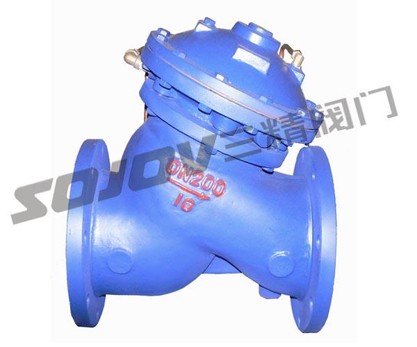 JD745X法兰连接多功能水泵控制阀