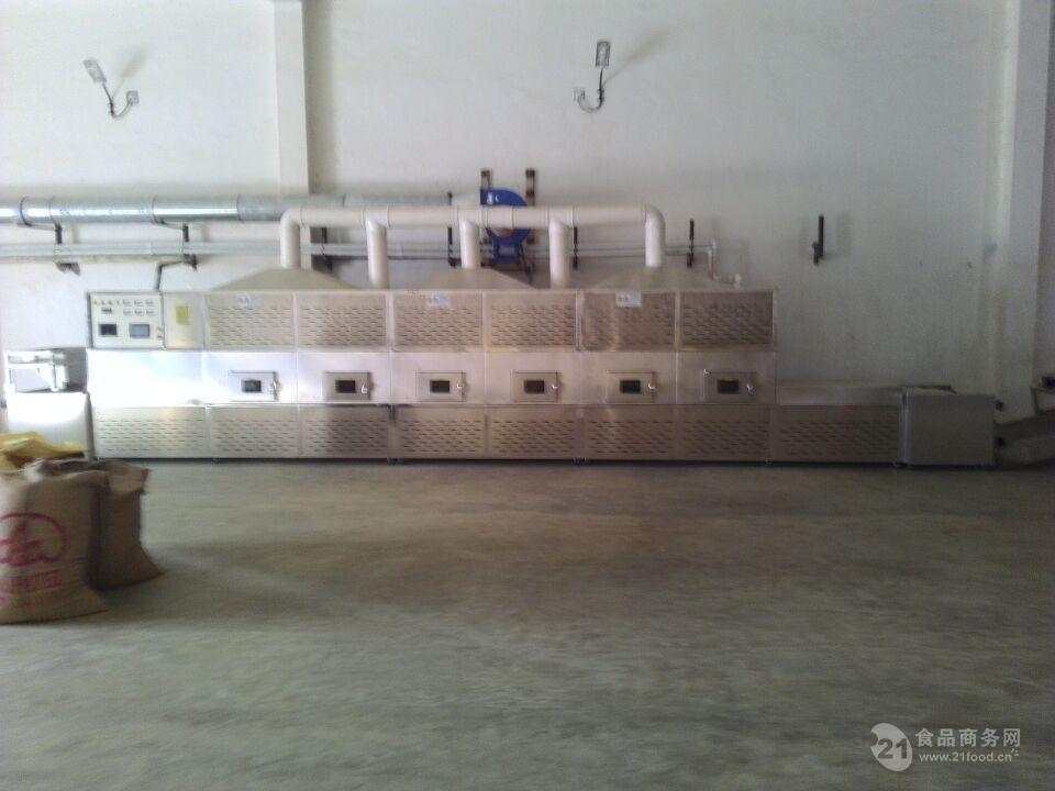 立威30KW微波茶叶杀青杀菌干燥设备